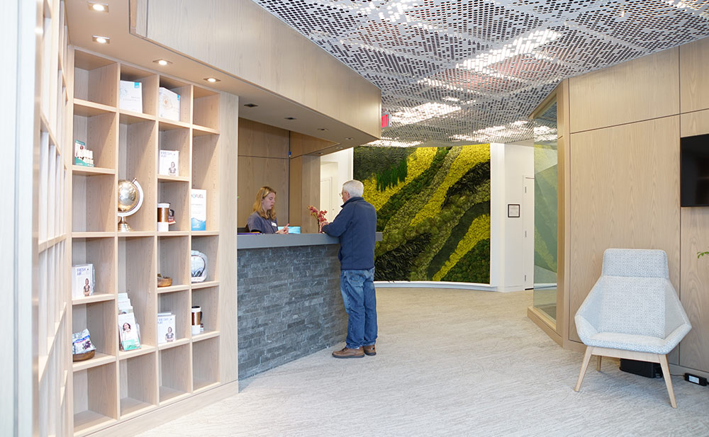 main reception | The BioMed Center NE