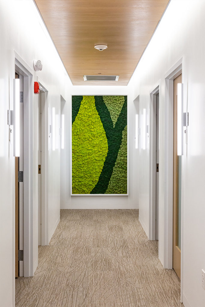 Upper Floor Hallway | The BioMed Center NE