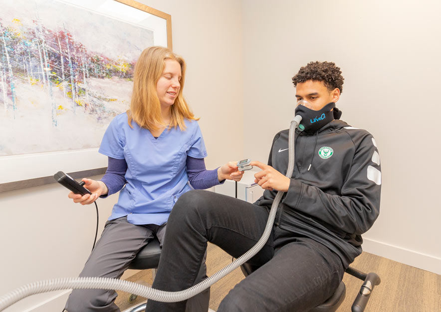Exercise with Oxygen Therapy (EWOT)