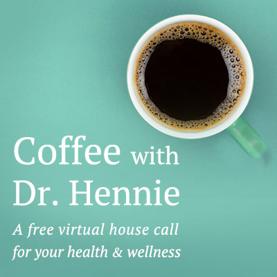 Coffee with Dr. Hennie
